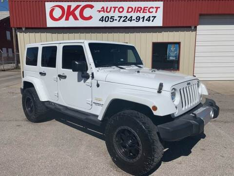 2014 Jeep Wrangler Unlimited for sale at OKC Auto Direct in Oklahoma City OK