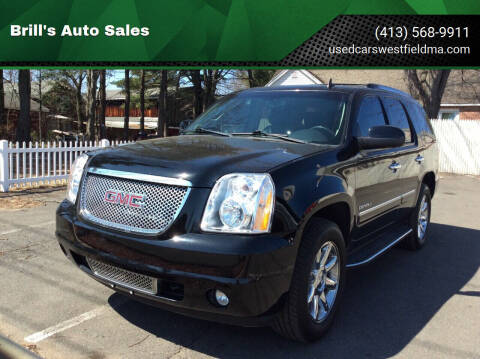 2011 GMC Yukon for sale at Brill's Auto Sales in Westfield MA