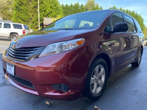 2017 Toyota Sienna for sale at Viewmont Auto Sales in Hickory NC