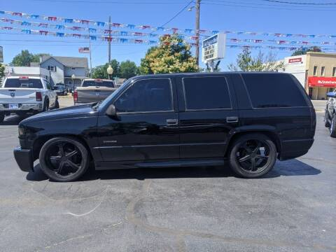 2000 Chevrolet Tahoe for sale at GREAT DEALS ON WHEELS in Michigan City IN