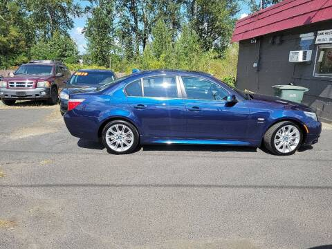 2010 BMW 5 Series for sale at Bonney Lake Used Cars in Puyallup WA