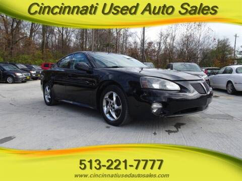 2004 Pontiac Grand Prix for sale at Cincinnati Used Auto Sales in Cincinnati OH