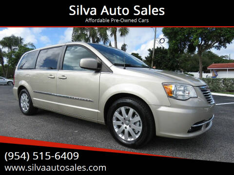 2014 Chrysler Town and Country for sale at Silva Auto Sales in Pompano Beach FL