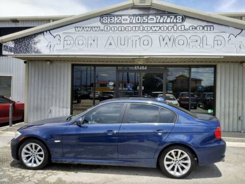 2011 BMW 3 Series for sale at Don Auto World in Houston TX