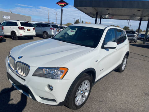 2013 BMW X3 for sale at Top Line Auto Sales in Idaho Falls ID
