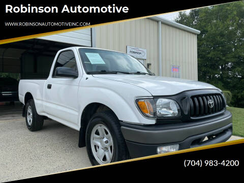 2003 Toyota Tacoma for sale at Robinson Automotive in Albemarle NC