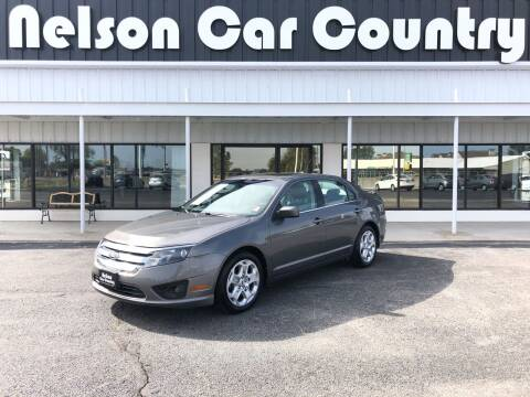 2010 Ford Fusion for sale at Nelson Car Country in Bixby OK