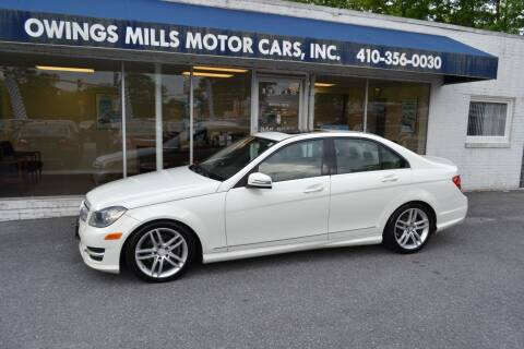 2012 Mercedes-Benz C-Class for sale at Owings Mills Motor Cars in Owings Mills MD