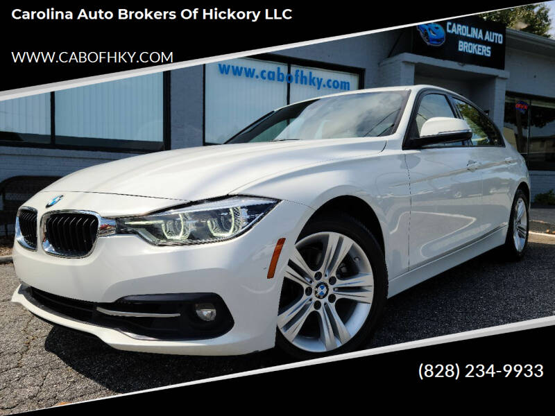 2016 BMW 3 Series for sale at Carolina Auto Brokers of Hickory LLC in Newton NC