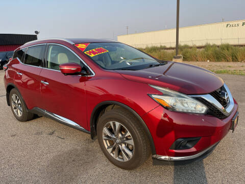 2015 Nissan Murano for sale at Top Line Auto Sales in Idaho Falls ID