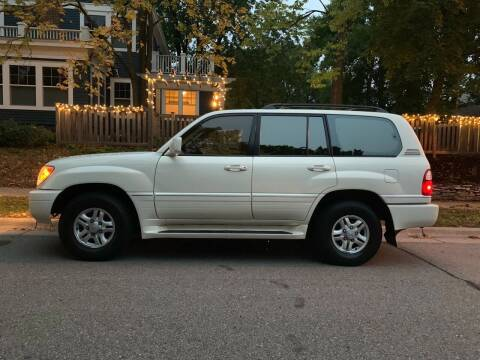 1999 Lexus LX 470 for sale at You Win Auto in Metro MN