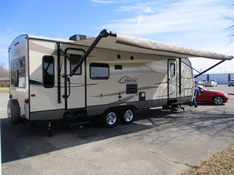2017 Keystone Cougar 28RLS X-Lite for sale at Kendall's Used Cars 2 in Murray KY