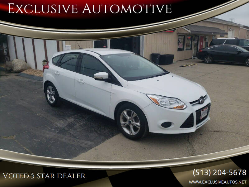 2013 Ford Focus for sale at Exclusive Automotive in West Chester OH
