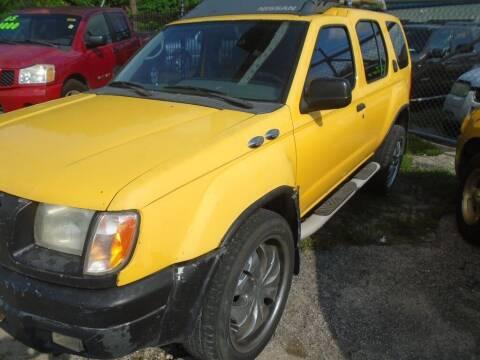 2000 Nissan Xterra for sale at SCOTT HARRISON MOTOR CO in Houston TX