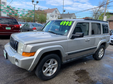 2007 Jeep Commander for sale at Barnes Auto Group in Chicago IL