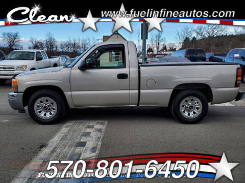 2005 GMC Sierra 1500 for sale at FUELIN FINE AUTO SALES INC in Saylorsburg PA