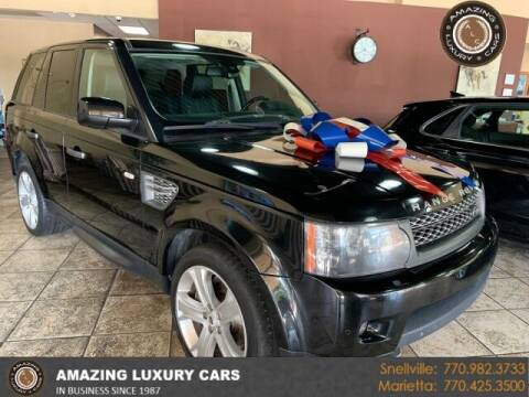 2011 Land Rover Range Rover Sport for sale at Amazing Luxury Cars in Snellville GA