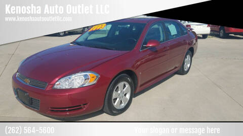 2009 Chevrolet Impala for sale at Kenosha Auto Outlet LLC in Kenosha WI