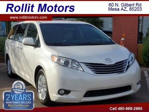 2015 Toyota Sienna for sale at Rollit Motors in Mesa AZ