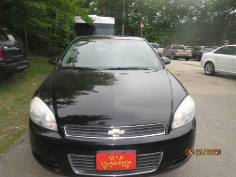 2007 Chevrolet Impala for sale at D & F Classics in Eliot ME
