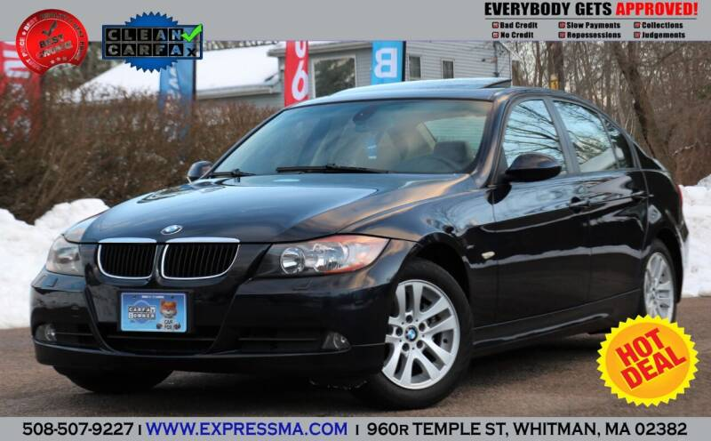 2007 BMW 3 Series for sale at Auto Sales Express in Whitman MA