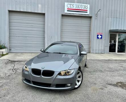 2007 BMW 3 Series for sale at CTN MOTORS in Houston TX