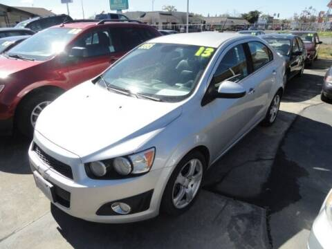 2013 Chevrolet Sonic for sale at Gridley Auto Wholesale in Gridley CA