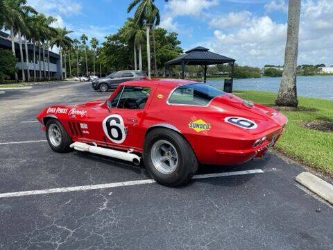 1966 Chevrolet Corvette for sale at Suncoast Sports Cars and Exotics in West Palm Beach FL