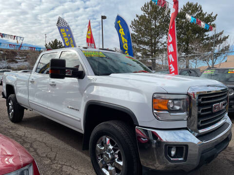2015 GMC Sierra 2500HD for sale at Duke City Auto LLC in Gallup NM