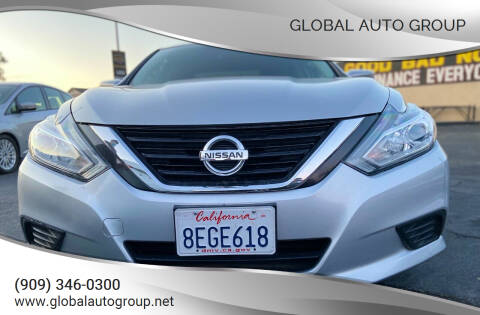 2017 Nissan Altima for sale at Global Auto Group in Fontana CA