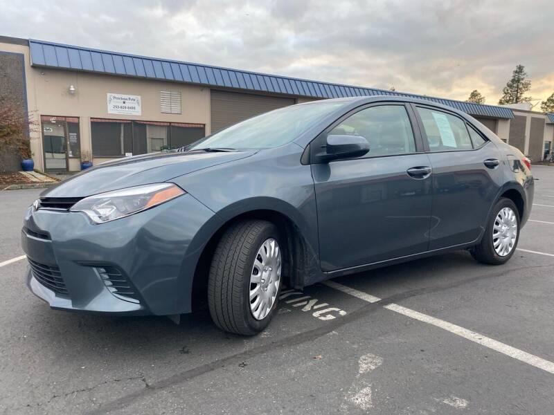 2016 Toyota Corolla for sale at Exelon Auto Sales in Auburn WA
