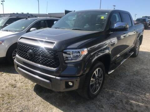 2018 Toyota Tundra for sale at BILLY HOWELL FORD LINCOLN in Cumming GA