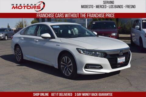 2020 Honda Accord Hybrid for sale at Choice Motors in Merced CA