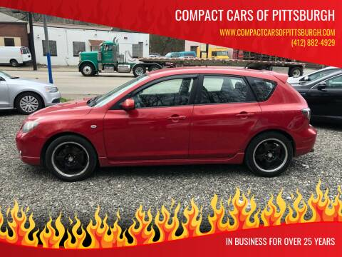2005 Mazda MAZDA3 for sale at Compact Cars of Pittsburgh in Pittsburgh PA