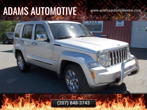 2012 Jeep Liberty for sale at Adams Automotive in Hermon ME