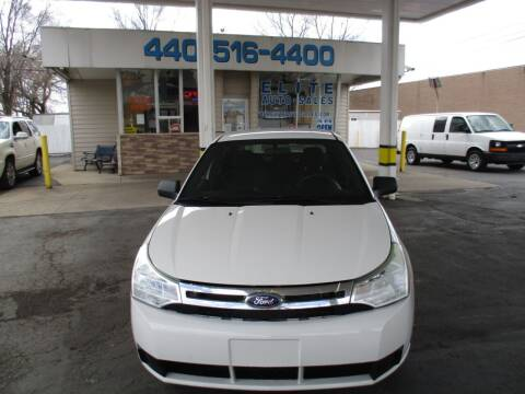 2009 Ford Focus for sale at Elite Auto Sales in Willowick OH