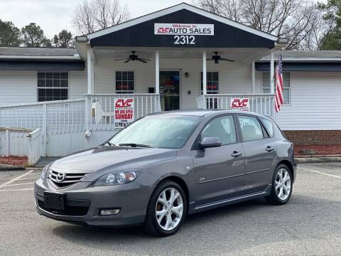 2008 Mazda MAZDA3 for sale at CVC AUTO SALES in Durham NC