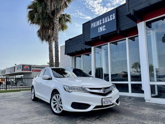 2016 Acura ILX for sale at Prime Sales in Huntington Beach CA