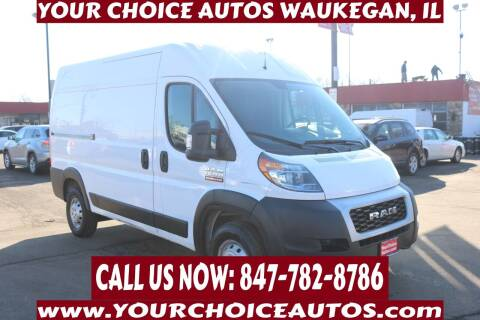 2019 RAM ProMaster Cargo for sale at Your Choice Autos - Waukegan in Waukegan IL