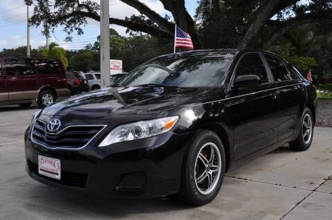 2011 Toyota Camry for sale at STEPANEK'S AUTO SALES & SERVICE INC. in Vero Beach FL