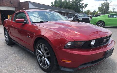 2011 Ford Mustang for sale at Creekside Automotive in Lexington NC
