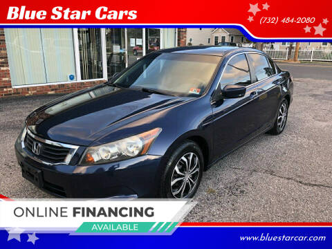 2010 Honda Accord for sale at Blue Star Cars in Jamesburg NJ