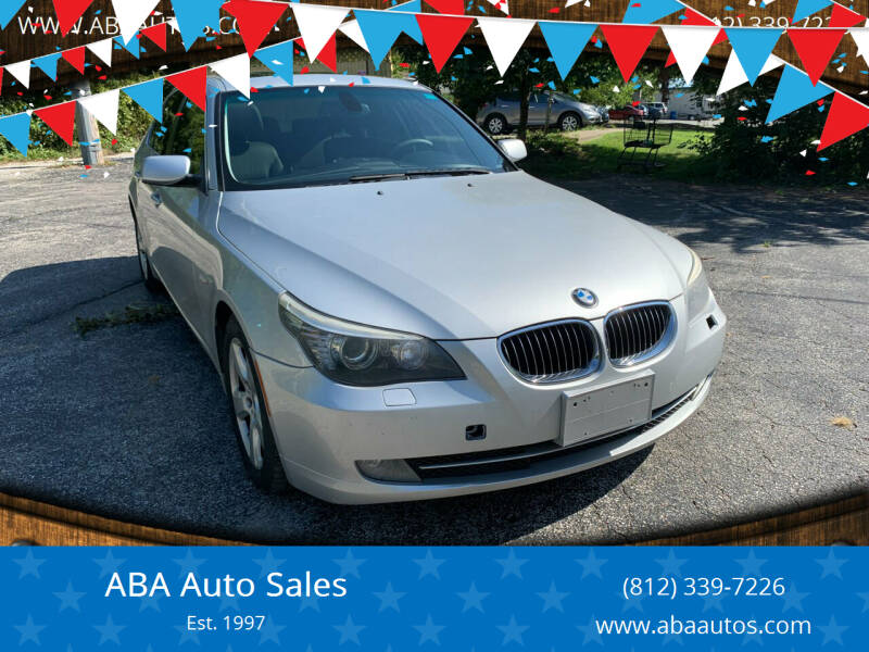 2008 BMW 5 Series for sale at ABA Auto Sales in Bloomington IN