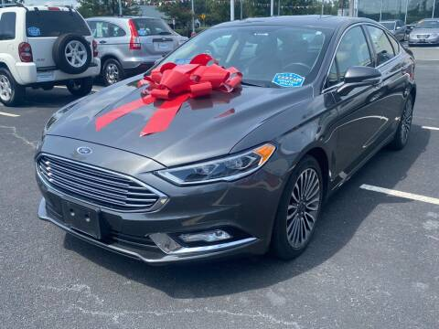 2017 Ford Fusion for sale at Charlotte Auto Group, Inc in Monroe NC