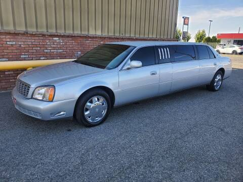 2001 Cadillac Executive Limo for sale at Harding Motor Company in Kennewick WA