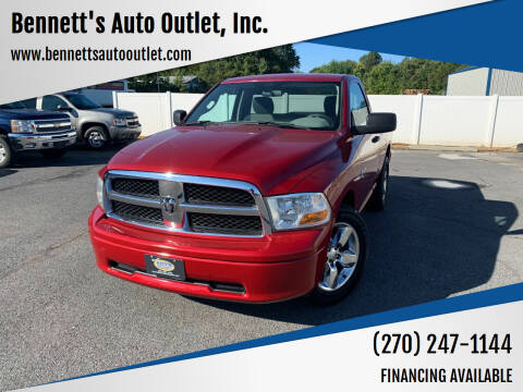 2010 Dodge Ram Pickup 1500 for sale at Bennett's Auto Outlet, Inc. in Mayfield KY