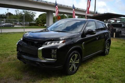 2020 Mitsubishi Outlander Sport for sale at ELITE MOTOR CARS OF MIAMI in Miami FL