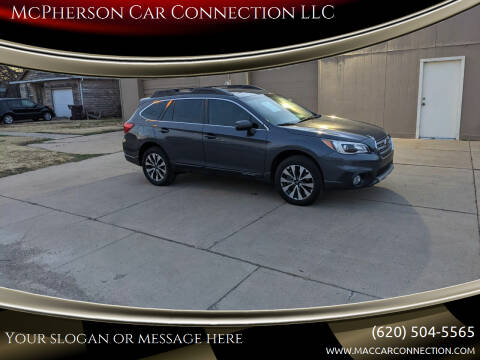 2017 Subaru Outback for sale at McPherson Car Connection LLC in Mcpherson KS