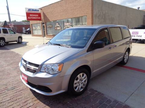 2017 Dodge Grand Caravan for sale at Rediger Automotive in Milford NE