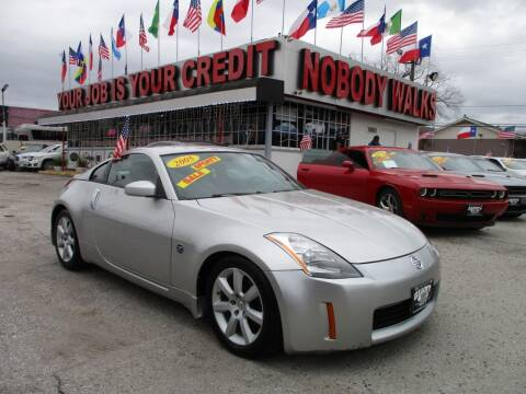 2005 Nissan 350Z for sale at Giant Auto Mart 2 in Houston TX